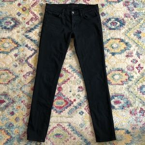 J Brand Skinny Black Jett Jeans 27